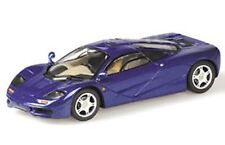 MINICHAMPS 530 133435 McLaren F1 GTR diecast model road car blue 1996 1:43rd