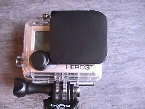 Protective Plastic 2.4cm Lens Cover Set for GoPro 3 GoPro Accessories New A Bag