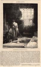 DOCTEUR FAUSTUS DOCTOR FAUST PRESS ARTICLE 1847 PRINT