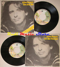 LP 45 7'' ALICE COOPER You and me It's hot tonight 1977 italy WARNER cd mc dvd*