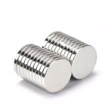Neodym Magnet 14 x 2 mm Supermagnete hohe Haftkraft Scheibenmagnet N35 - 5 Stück