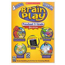 Educational PC games for kids, Brain Play Preschool - 1st, learn math,reading.