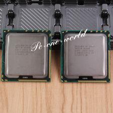 A pair Intel Xeon X5687 3.6GHz Processor LGA 1366 CPU 3200MHz 12MB Quad-Core