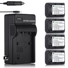 Battery & Charger For Sony NP-FH50 NP-FH40 DSC-HX1 HX100V DSLR A230 A330 Camera