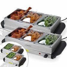 Berlinger Haus Acier Inoxydable Food Warmer Plaque Chaude Plateau Bougie Buffet Server