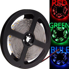 5M RGB Strip Lights SMD Flexible Waterproof 300 LED Lamp DC 12V Home Decoration