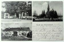 HIMMELSTÄDT - Gasthaus Gasthof Liebe, Kirche, Schloß - gel. Cladow / Kladow 1915