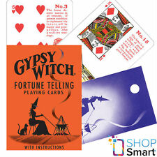 GYPSY WITCH TAROT DECK PLAYING CARDS ORACLE ESOTERIC TELLING US GAMES SYSTEMS
