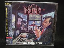 EXARSIS The Brutal State + 2 JAPAN CD Mallediction Decomposed Existence Necrovor