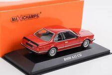1:43 635 CSI E24 BMW 1982 rot Minichamps Maxichamps