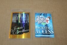 Jonas Brothers - 2 x Backstage Pass - Lot # 18 - FREE SHIPPING -