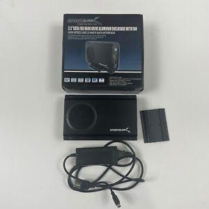 "Sabrent 3.5"" USB 2.0/eSATA HDD Enclosure SATA/IDE with Cooling Fan (EC-UEIS7)"
