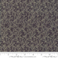 Moda Quilt Fabric Home Fruitful Vine Kathy Schmitz color Slate by ½ yd #7012 11