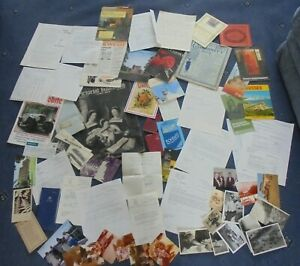 job lot of mixed misc ephemera photos postcards etc (ay5