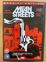 Mean Streets DVD 1973 Italiano American Crimine Gangster Drammatico Classico