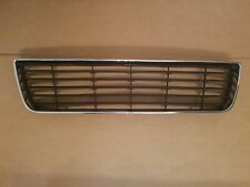 fits 2006-2011 CHEVY IMPALA Front Bumper Lower Bottom Grille w/ Chrome Surround