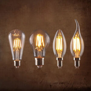 Vintage LED Industrial Filament Light Bulb Lamps Bulbs Squirrel Cage Edison A+
