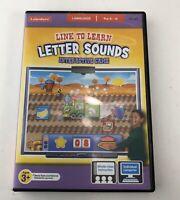 Lakeshore Letter Sounds Interactive Game Language Pre K - K Kindergarten PC MAC