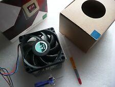 AMD FX 4100 -4130 - 4150 - 4170 - 4200 HEAT SINK FAN - USED w/  thermal paste