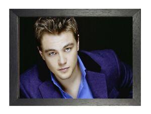 Leonardo DiCaprio #14 American Actor Poster Handsome Titanic Film Star Young