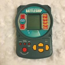 Battleship Electronic Handheld Travel Game Milton Bradley 1995 Works LCD Screen