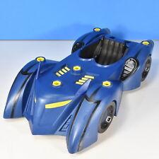 DC Comics - Blue Battle Armor Batmobile,  2010, missing multiple parts