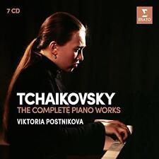 Viktoria Postnikova - Tchaikovsky: The Complete Piano Works (NEW 7CD)