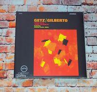 Stan Getz Joao Gilberto - Getz/Gilberto LP DeAgostini 180g Reissue 2016 Sealed