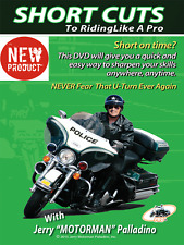 Shortcuts to Riding Like a Pro DVD by Jerry Motorman Palladino