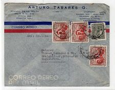 COLOMBIA: 1940s? Air Mail cover to Scotland (C25243)