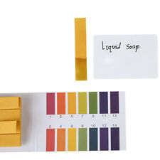80x Full Range Lackmus-Test Papierstreifen Tester Indikator Urin-pH 1-14 Set