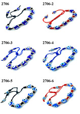 Turkish Evil Eye Braided String Bracelet for Women Jewelry #2706