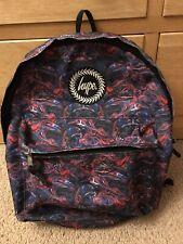 Hype Backpack Rucksack School Bag Purple
