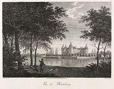 MORITZBURG (SACHSEN) - Schloss Moritzburg - Schumann - Kupferstich 1808