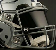 DALLAS COWBOYS NFL UNDER ARMOUR Football Helmet BLACK Eye Shield / Visor