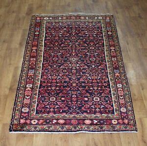 Traditional Vintage Wool Handmade Classic Oriental Areas Rug Carpet 260 X110 cm