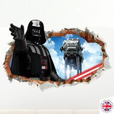3D DARTH VADER Wall Sticker Vinyl Art Home Bedroom Poster STAR WARS