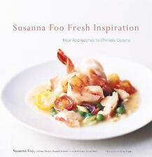 Susanna Foo Fresh Inspiration: New Approaches to Chinese Cuisine-ExLibrary
