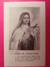 177 - Ste Thérèse de l'Enfant Jésus - Imp. Evêque de Bayeux et Lisieux