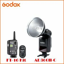 Separate Godox AD360II-C E-TTL II Camera Flash Speedlite+FT-16 Trigger for Canon