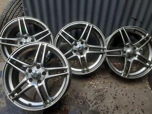 "4x 18"" Mercedes Audi Vw Vito 5x112 Skoda Seat T4 Alloy Wheels"