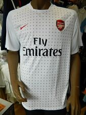Arsenal Pre-Match Top White/Red UK Size XL Mens