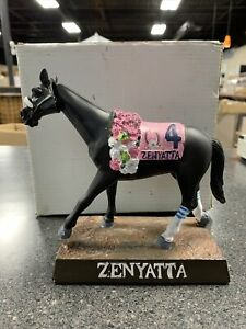 Oaklawn Bobble Head Horse Zenyatta Racing Arkansas Derby New In Box