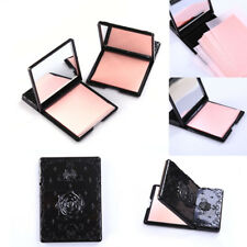 50pcs Portable Oil  control Oil absorbing sheets Blotting paper Rose Flower