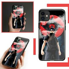 Cool Tempered Glass Shisui Uchiha Naruto Case For iPhone 7 8 X XS XR 11 PRO MAX