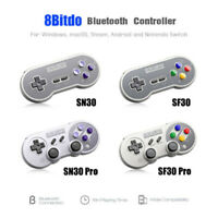 8Bitdo SN30/SF30 PRO Bluetooth Gamepad Switch/macOS/Android/Windows/Rasp Pi US