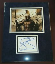 """"""" Gerard Butler""""/ Custom Matted Autographed Photo."""