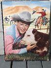 Vintage Roy Rogers Picture Puzzle 1952 no. 2604 Roy Rogers Cow Cowboys
