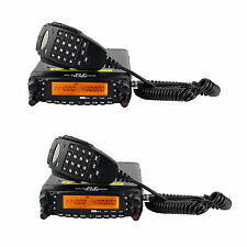 2x Sale Car Ham Radio Transceiver Dual Band 50W VHF/40W UHF Cross-Band Repeater
