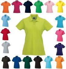 Figurbetonte Hüftlang Damenblusen,-Tops & -Shirts mit Baumwollmischung ohne Muster